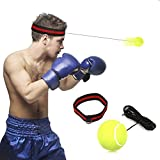 Reflex Boxing Ball, SGODDE Reflex Punch Ball with Headband, Boxing Speed Ball for MMA Training, Boxing Punch Exercise, Training Speed Reactions, Fitness-Boxing Gym Equipment for Adult/Kids