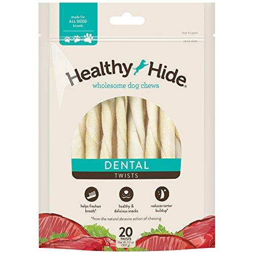 - Healthy Hide Dental Twist, 20 pack