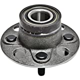 CRS NT512323 New Wheel Bearing Hub Assembly, Rear Driver (Left) Side/Passenger (Right), for Honda 2010-2014 Insight, 2007-2013 Fit (1.5L Gas Engine)