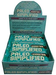 Paleo Energy Bar, Paleo Simplified, Nutty Fruit Bliss