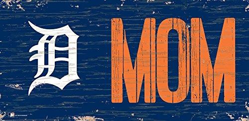 Fan Creations Detroit Tigers 12x6 Mom Wood Sign