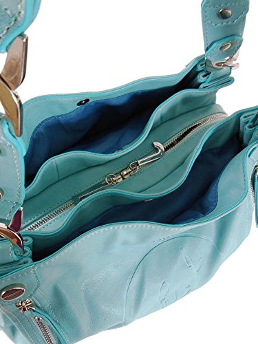 SHOPPING BAG LIU JO TURCHESE N4/23