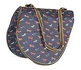 Shires Printed Saddle Carrying Bag