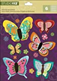 K&Company Studio 112 Butterfly Dimensional Stickers