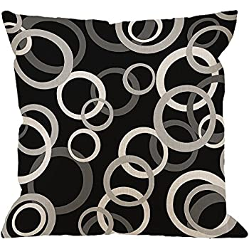 Amazon.com: Popular Presents Retro Cotton Cushion Cover ...