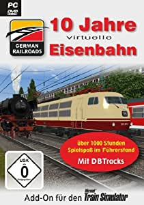 RougTrade Train Simulator German Railroads 10 Jahre virtuelle Eisenbahn - Complemento para simulador de trenes (en alemán)