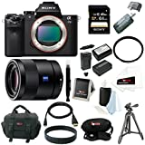 Sony Alpha a7II Interchangeable Digital Lens Camera (Black) with 55mm Prime Lens & 64GB SDHC Accessory Bundle