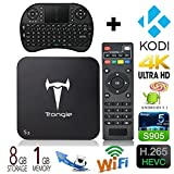 [Free keyboard] J-DEAL® Fully Loaded MXQ Pro Android V5.1 TV BOX Amlogic S905 Quad Core BOX Google Streaming Media Player 4K IPTV 2.4/5GHz WiFi HDMI DLNA BT4.0 KODI Pre-installed