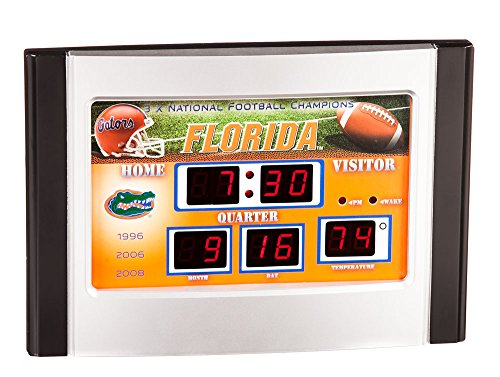 (Florida Gators Scoreboard Desk & Alarm Clock)