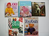 img - for 60 Quick Baby Knits; Itty-bitty Hats; Dogs in Knits; Toy Knits; Gift Knits (Set of 5) book / textbook / text book
