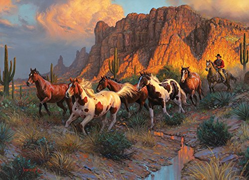 COBBLE HILL Western Canyon Jigsaw Puzzle (1000 Piece)