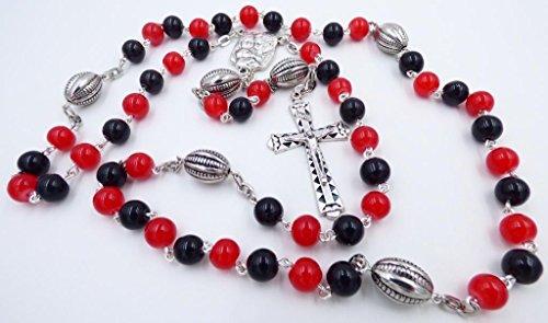 ATLANTA PRO FOOTBALL CATHOLIC ROSARY BEADS ()