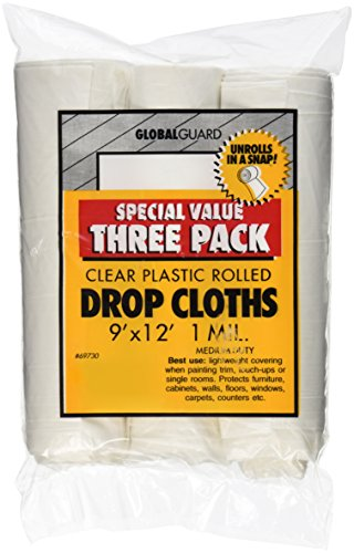 premier-paint-roller-69730-plastic-drop-cloth-9-feet-by-12-feet-3-pack