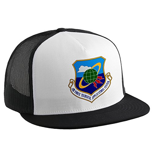 ExpressItBest Trucker Hat with U.S. Air Force Technical Applications Center (AFTAC),