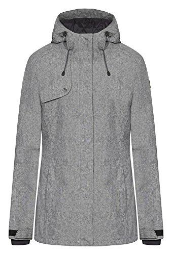 ICEPEAK Joleen damas' chaqueta Lead/Grey