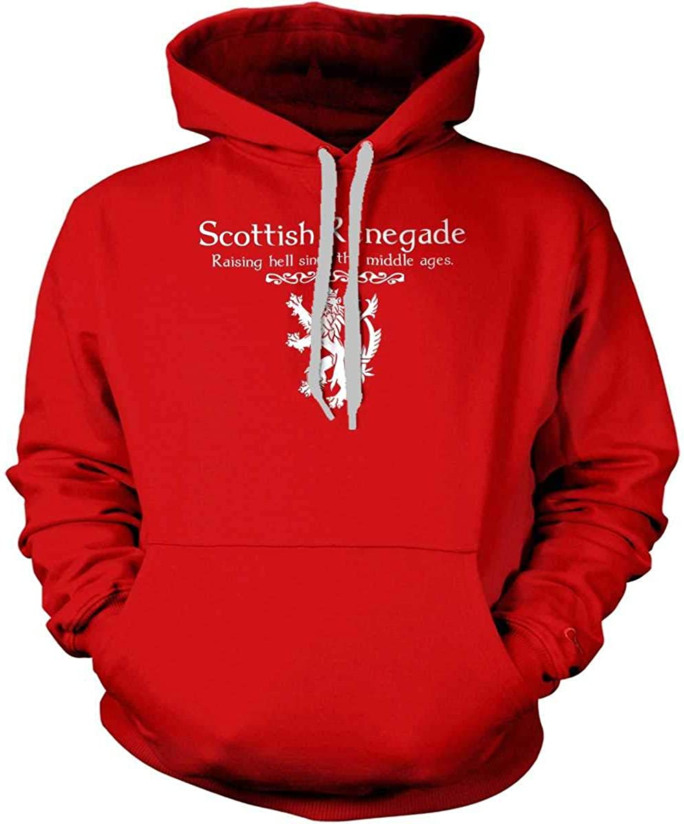 Hoodie Mens Sweatshirt Sons Of Liberty Scottish Renegade Raising Hell Since The Middle Ages