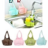 LILACORP Portable Basket Home Kitchen Hanging Drain Basket Bag Bath Storage Tools Sink Holder Kitchen Accessory vaciar cesta