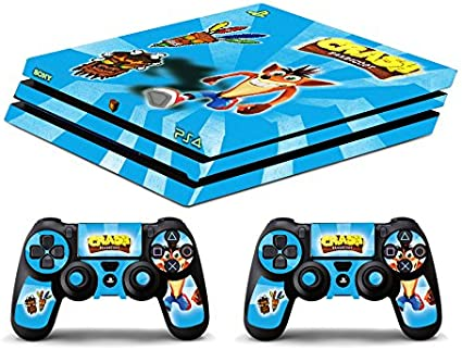 Skin PS4 PRO HD - CRASH BANDICOOT 2 - limited edition DECAL COVER ...