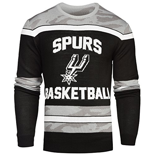 San Antonio Spurs Ugly Glow In The Dark Sweater - Mens - Mens Double Extra Large