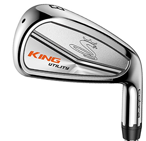 2017 Cobra King Utility Iron 2i3i Satin (Men's, Right Hand, Steel, Stiff Flex)