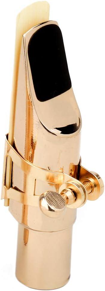Alt Saxophon Mundstück aus Metall für Schüler Anfänger Altsaxophon