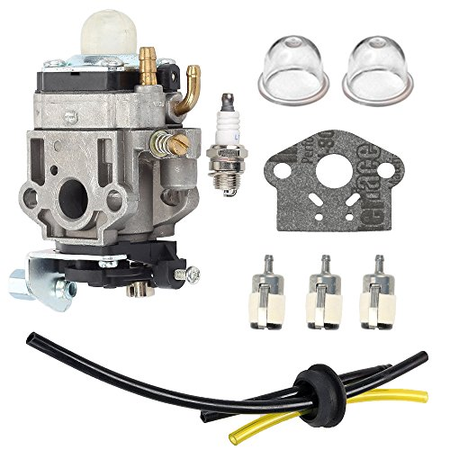 Hilom Carburetor with Fuel Tune-Up Kit for WYJ-138 WYK-186 Echo SHC-260 SHC-261 PB-260L Shindaiwa T242X T242 Trimmer