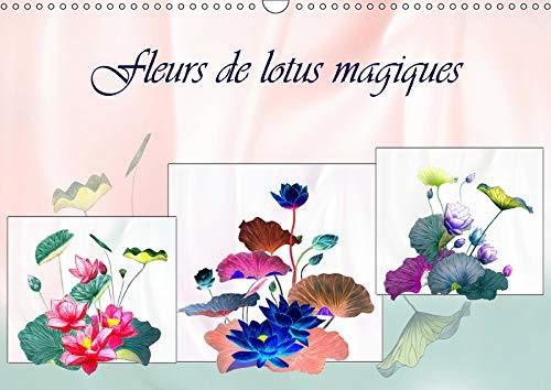 Fleurs De Lotus Et De Pivoines 2019 Dessins Au Crayon De
