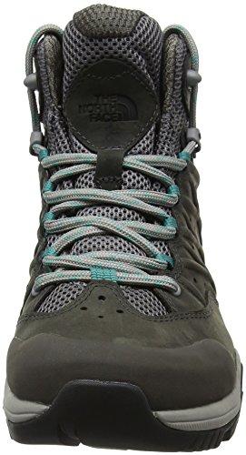 Gris Hike THE HH Chaussures W NORTH Femme Porcelaingrn GTX II MD Grey Q de FACE 4fz Hautes Silver Randonnée H4Org1WO