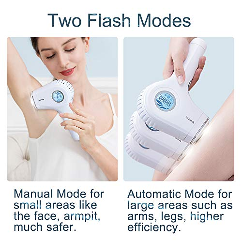 IPL Hair Removal Device Veme 500000 Flashes ICE Cooling Home Use Hair Remover for Face, Armpits, Bikini Line, Legs
