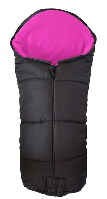 Deluxe – Saco/Cosy Toes Compatible con Quinny Buzz carrito de bebé, color rosa
