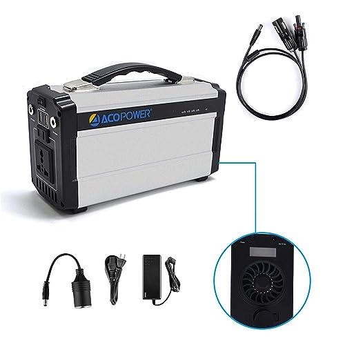 ACOPOWER Portable Solar Generator