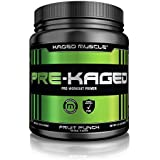 PRE-KAGED Pre Workout Powder – Fruit Punch Flavor – 638 Grams – L-Citrulline + Creatine HCL – MAXIMIZE Energy + Focus + Extreme Workout Intensity + Supercharge Adrenaline*