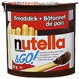 Nutella & Go NUTELLA & GO! Breadstick 52g (Box of 10), 52 grams