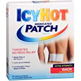 Icy Hot Extra Strength Medicated Patch, Large, 5 Count