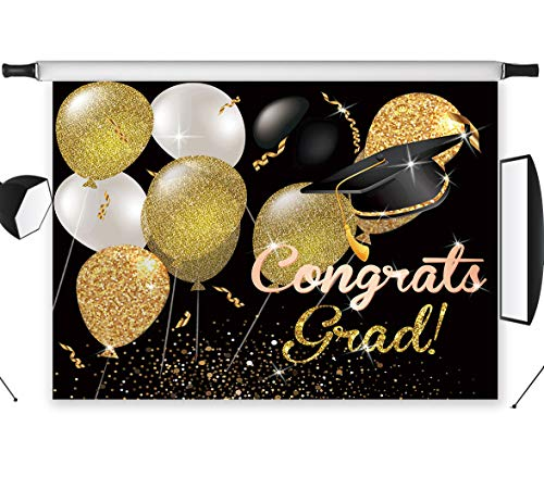 LB Graduation Ceremony Photography Backdrops 7x5ft Vinyl Congrats Grad Class of 2019 Background Customized Prom Party Banner Event Decoration Photo Studio Props -