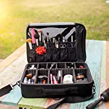 New BEST Professional Makeup Case ON SALE! Prime Makeup Artist Cosmetic Train Case Cosmetic Organizer Big Makeup Bag - Makeup Organizer & Makeup Brush Holder Bag/ Designer Makeup Case