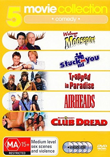 Welcome To Mooseport / Trapped Paradise / Airheads / Club Dread | 5 Discs | NON-USA Format | PAL | Region 4 Import - Australia