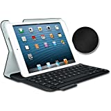 Logitech Ultrathin Keyboard Folio for iPad Mini - Carbon Black (Textured)