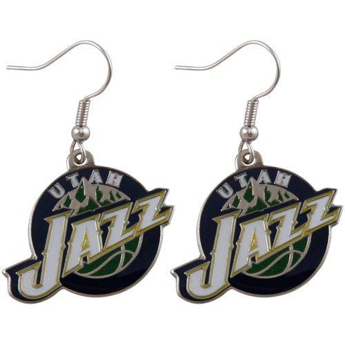 Utah Jazz - NBA Team Logo Dangler Earrings (Jazz Jewelry Utah)