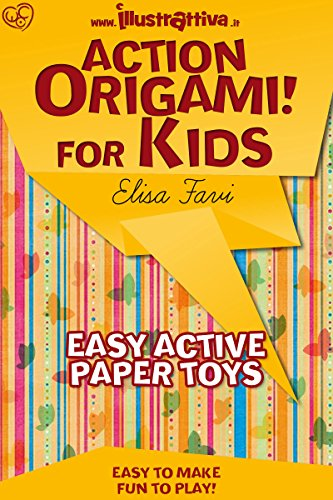 Origami Frog (Action Origami for kids: easy, funny, active paper toys (Illustrattiva, Active Short Boooks Book 1))