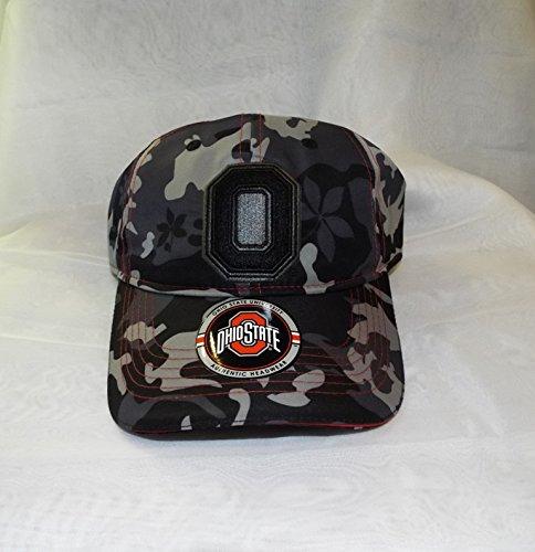 音楽接続詞怪しいOhio State Buckeyes Camo Adjustable Hat