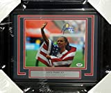 Alex Morgan Autographed Framed 8x10 Photo Team USA PSA/DNA