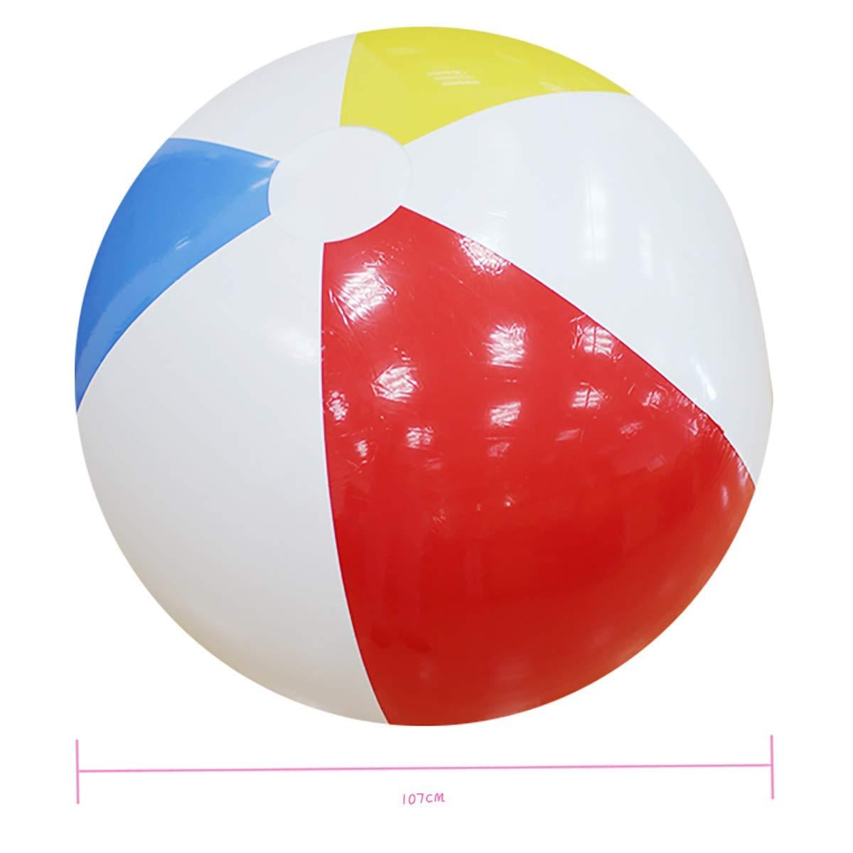 L&WB 100 cm Gigante Inflable Pelota de Playa Grande de Tres ...