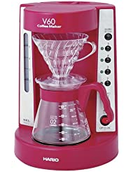HARIO V60 Coffee Maker 2 5 Cups EVCM 5WR Wine Red Japanese Model