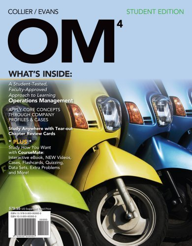 Download By David Alan Collier OM 4 (with Review Cards and CourseMate Printed Access Card) (4th Edition) pdf epub