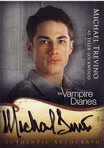 Vampire Diaries Season 1 Trading Cards Autograph A8 Michael Trevino as Tyler Lockwood
