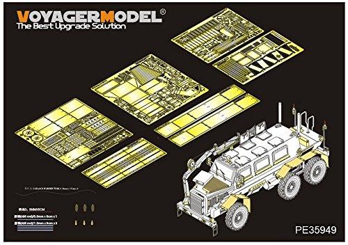 ボイジャーモデル 1/35 現用アメリカ軍 バッファローA2 MPCV エッチングセット (パンダホビー PH35031用) プラモデル用パーツ PE35949の商品画像
