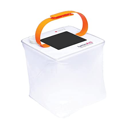 LuminAID PackLite 2-in-1 Phone Charger Lanterns Great for Camping, Emergency Kits and Travel As Seen on Shark Tank