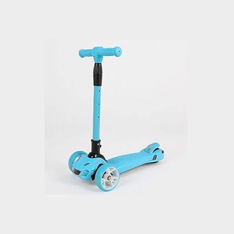 GAIXIA Scooter para Niños Nuevo Scooter Plegable Flash ...