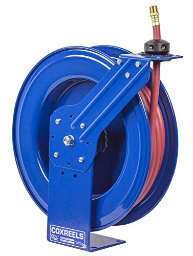 Coxreels SH-N-440 Low Pressure Spring Rewind Hose Reel with Super Hub(TM): 1/2'' I.D, 40' hose capacity, with hose, 300 PSI by Coxreels